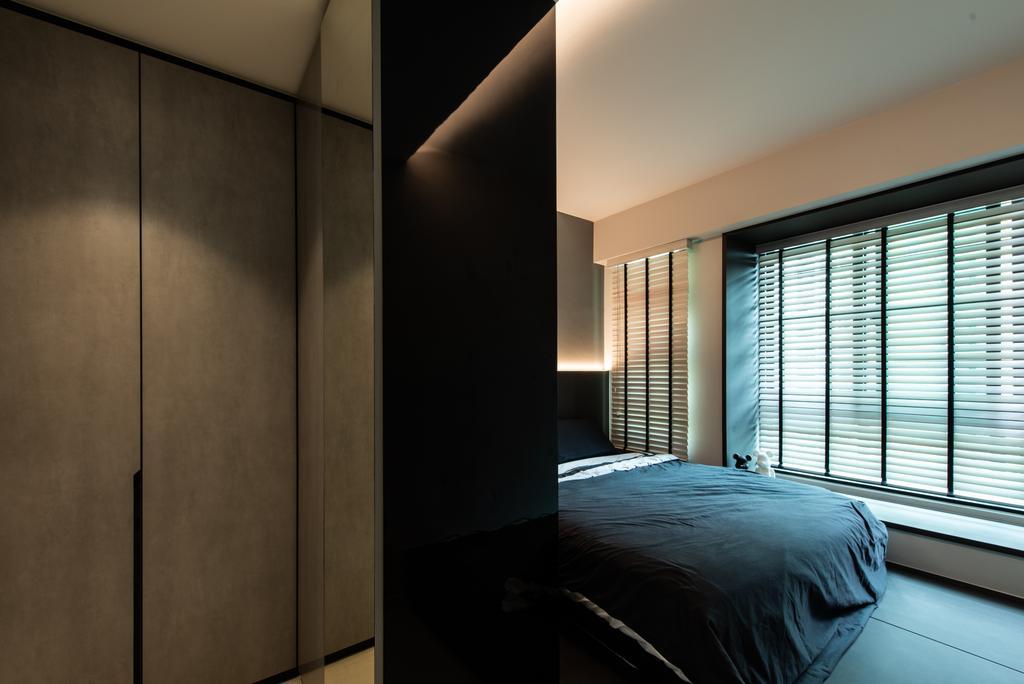 Contemporary, HDB, Bedroom, Havelock Road, Interior Designer, Dyel Design