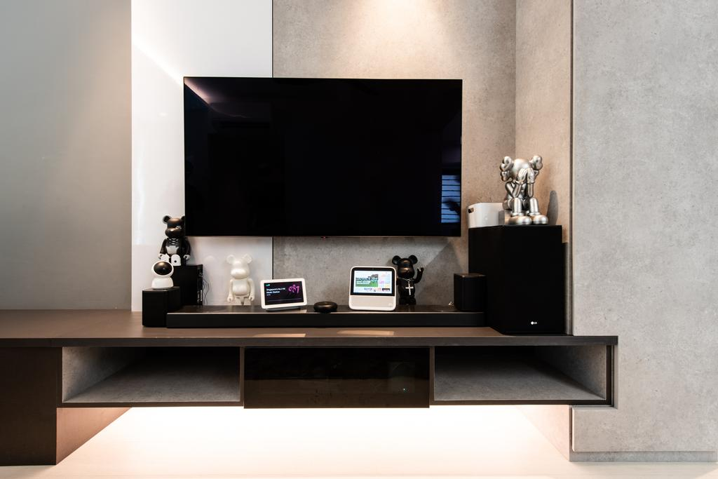 Contemporary, HDB, Living Room, Havelock Road, Interior Designer, Dyel Design
