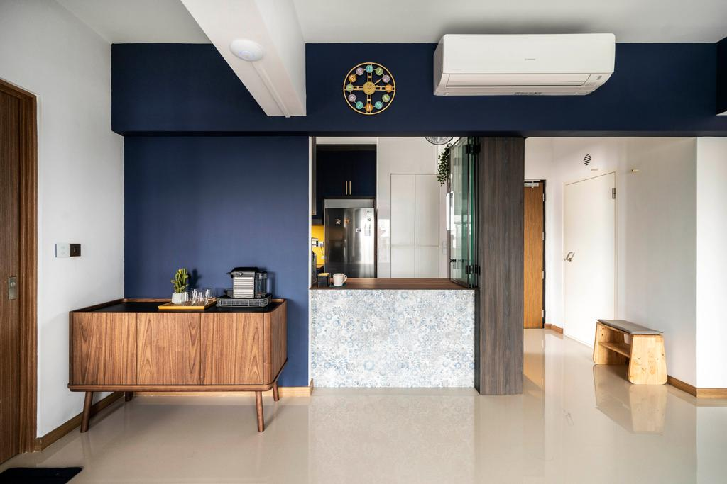 Contemporary, HDB, Kitchen, Bidadari Park, Interior Designer, Livspace