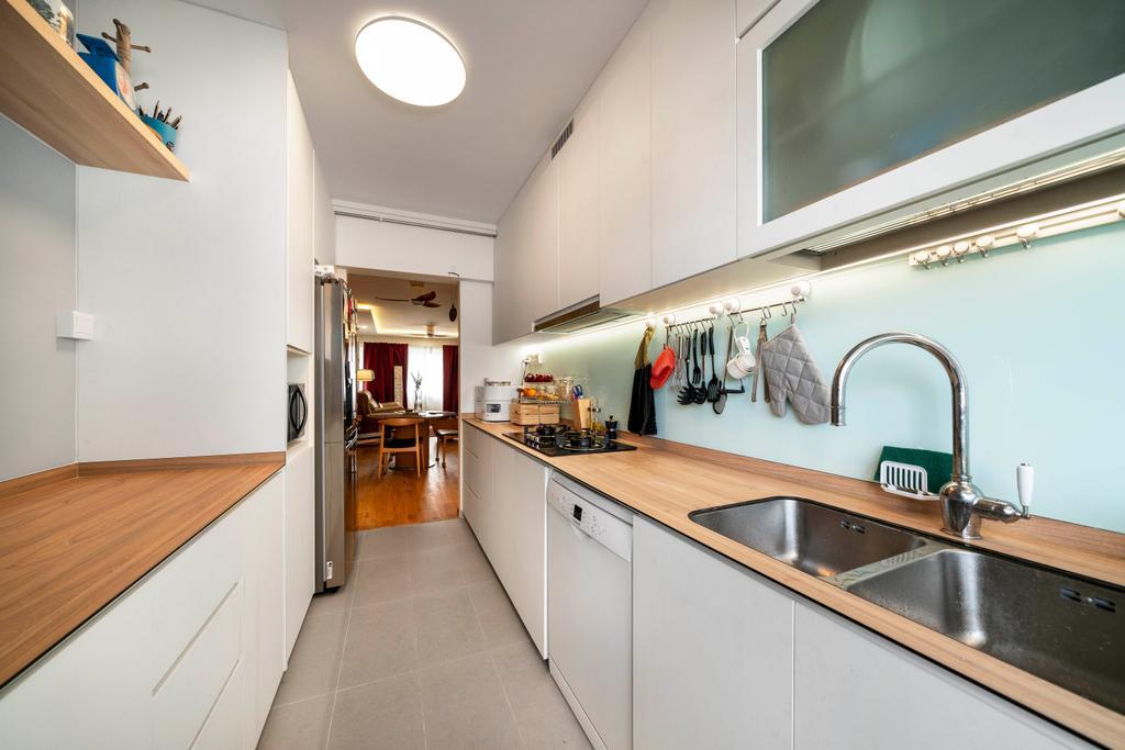 Modern, HDB, Kitchen, Bedok Reservoir, Interior Designer, Livspace
