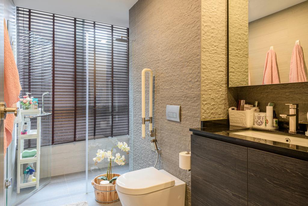 Modern, Condo, Bathroom, Botannia, Interior Designer, i. Haven Design