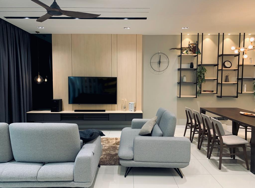 Riyang Condominium by RK Interior Studio