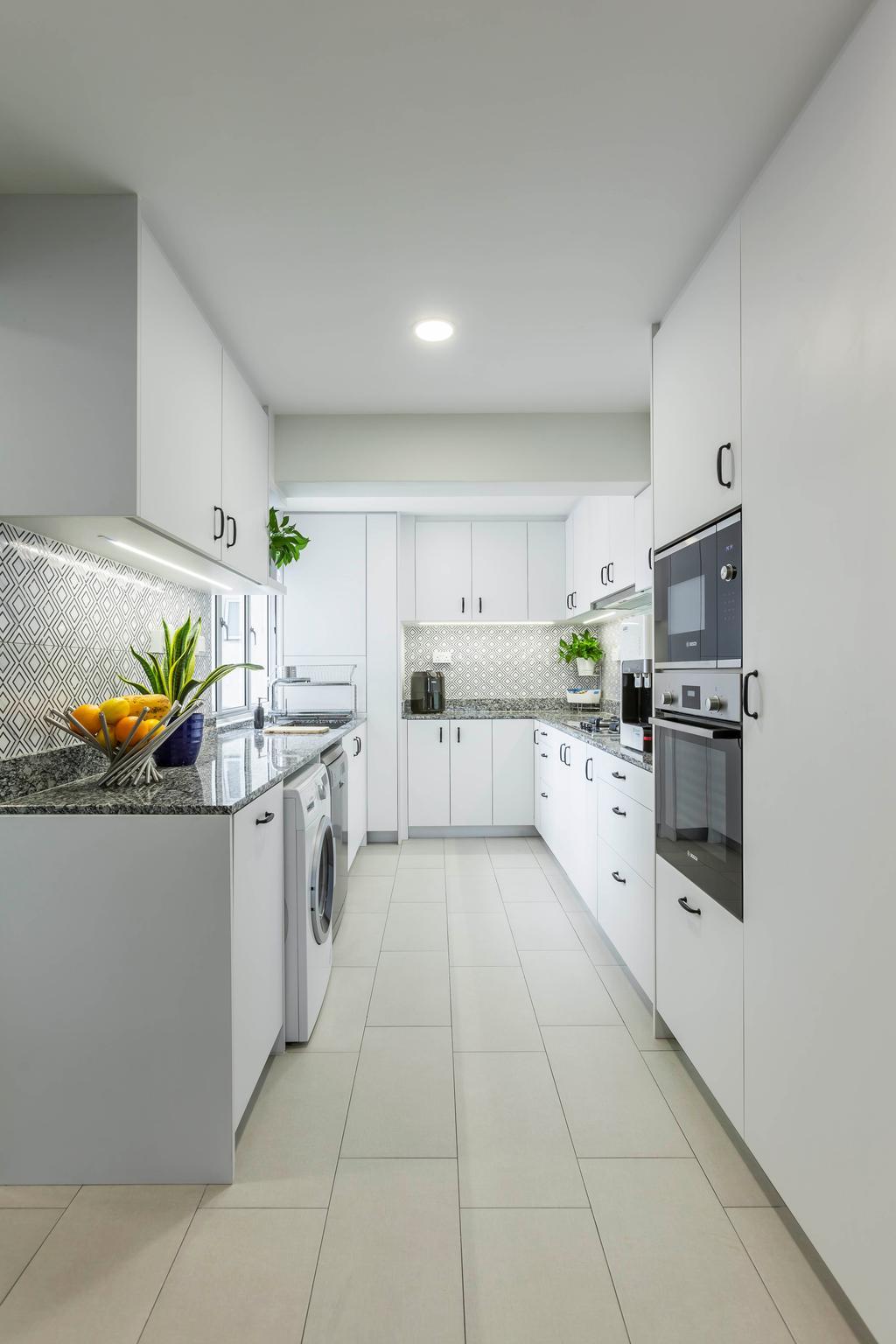 Modern, HDB, Kitchen, Clementi Street 1, Interior Designer, Ovon Design