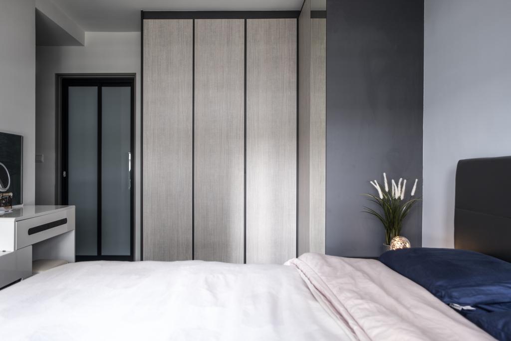 Contemporary, HDB, Bedroom, Tampines North Drive 1, Interior Designer, United Team Lifestyle