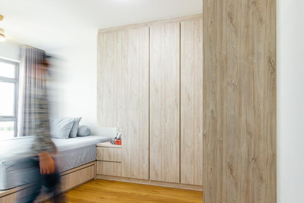 Modern, HDB, Bedroom, Tampines North Drive 1, Interior Designer, 9 Creation, Contemporary