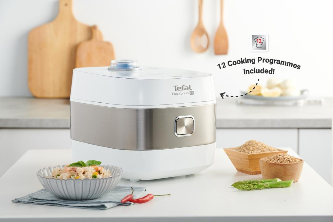 Cook Your Entire Dinner with Tefal's Induction Rice Cooker 2