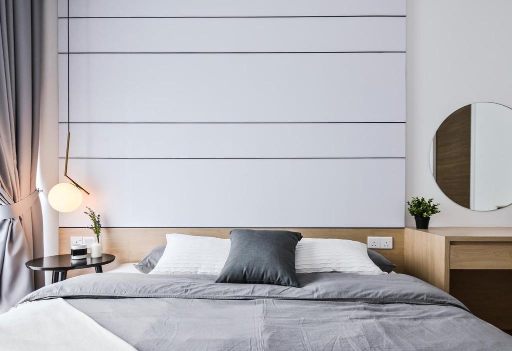 Modern, Condo, Bedroom, ARIA Luxury Residence (2203), Kuala Lumpur, Interior Designer, Viyest Interior Design, Contemporary
