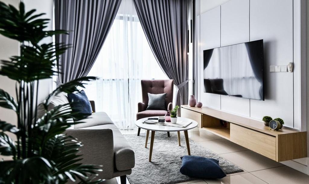 ARIA Luxury Residence (2203), Kuala Lumpur by Viyest Interior Design