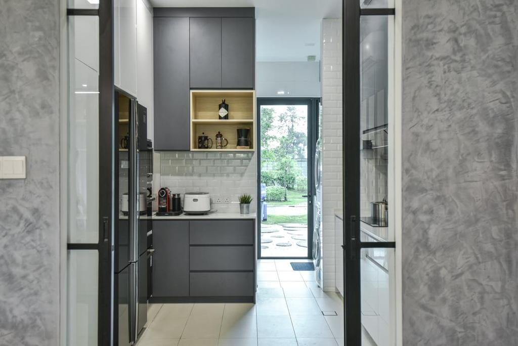 Modern, Landed, Kitchen, Setia Eco Glades, Cyberjaya, Interior Designer, Viyest Interior Design