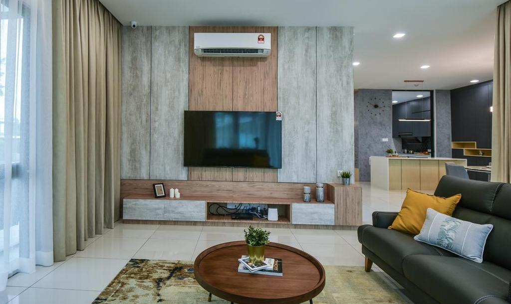 Modern, Landed, Living Room, Setia Eco Glades, Cyberjaya, Interior Designer, Viyest Interior Design