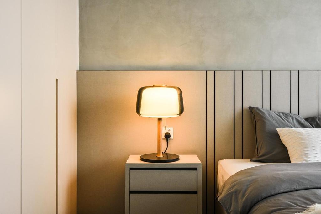 Minimalistic, Condo, Bedroom, Stonor 3, KLCC, Interior Designer, Viyest Interior Design
