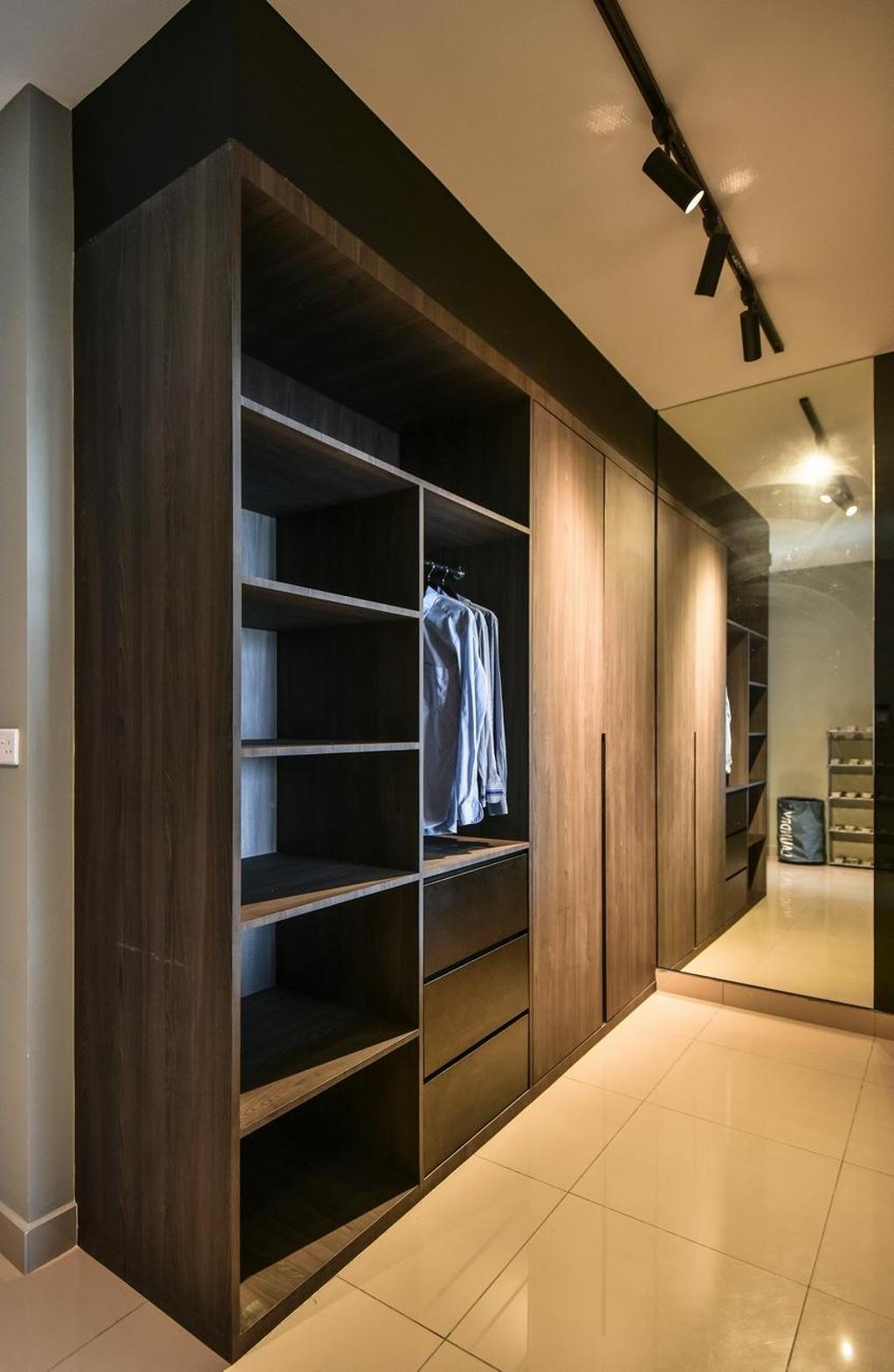 Contemporary, Condo, Bedroom, The Nest Residences, Kuala Lumpur, Interior Designer, Viyest Interior Design, Transitional