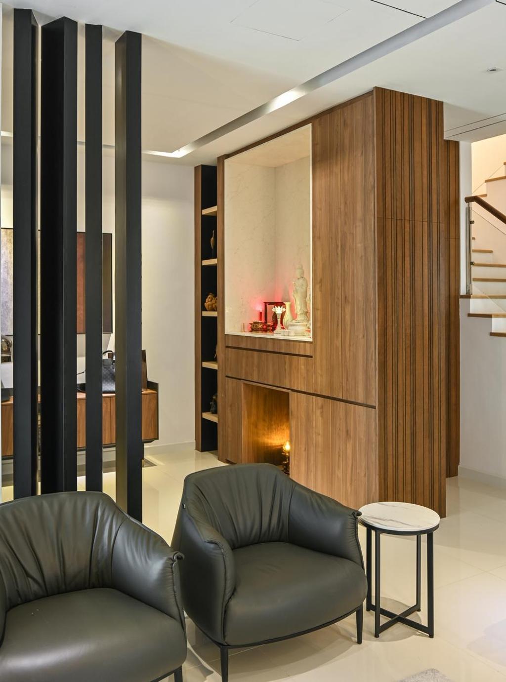 Modern, Landed, Beverly Heights, Ampang, Interior Designer, Viyest Interior Design, Contemporary, Retro