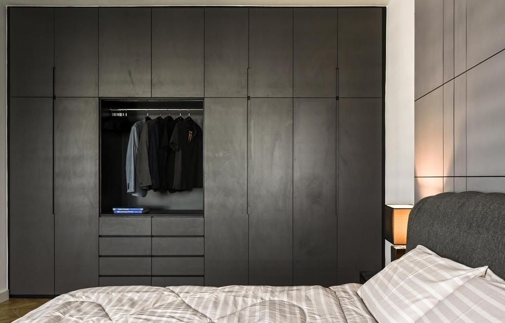 Modern, Landed, Bedroom, Beverly Heights, Ampang, Interior Designer, Viyest Interior Design, Contemporary, Retro
