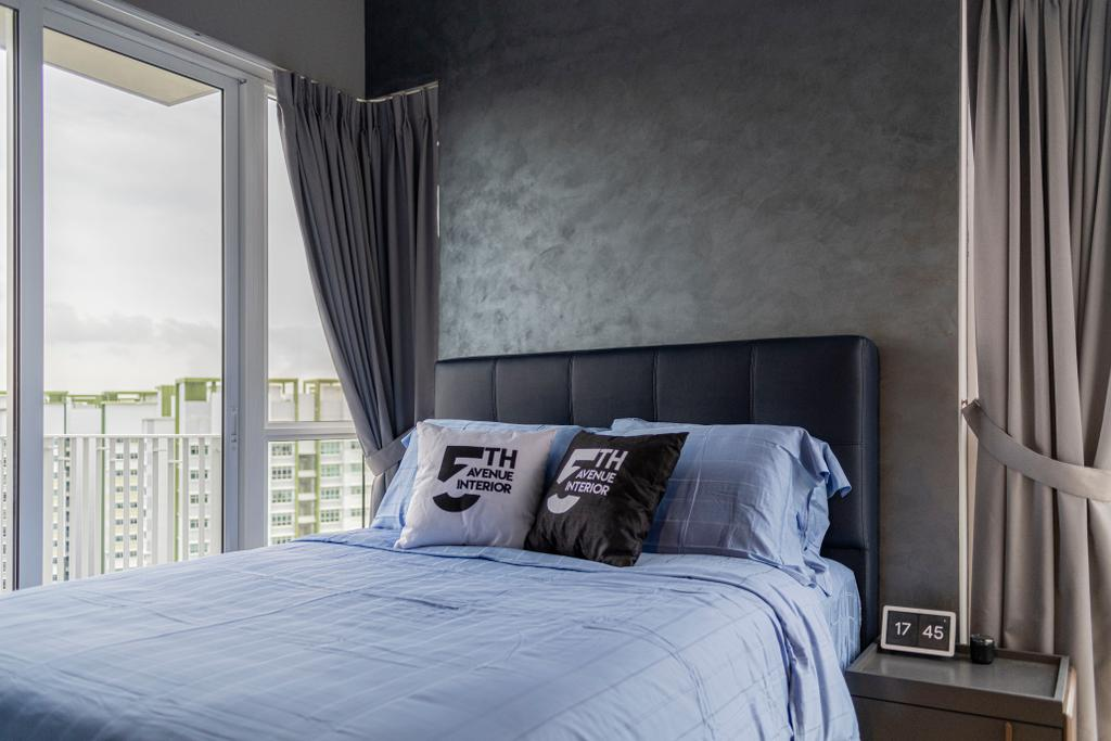 Modern, Condo, Bedroom, High Park Residences, Interior Designer, Fifth Avenue Interior, Contemporary