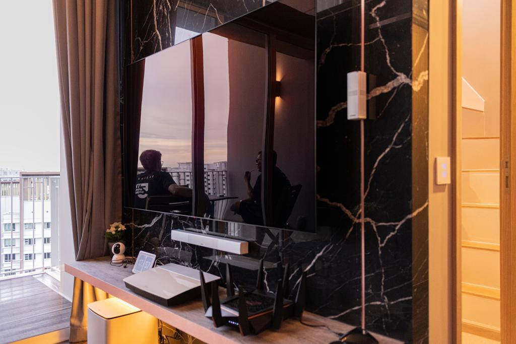 Modern, Condo, Living Room, High Park Residences, Interior Designer, Fifth Avenue Interior, Contemporary