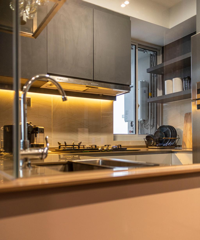 Modern, Condo, Kitchen, High Park Residences, Interior Designer, Fifth Avenue Interior, Contemporary