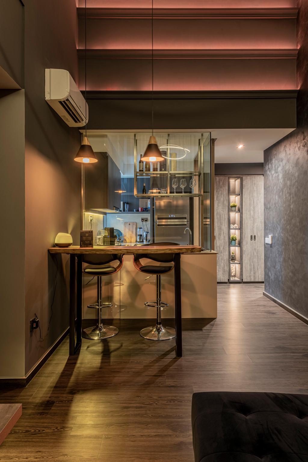 Modern, Condo, Dining Room, High Park Residences, Interior Designer, Fifth Avenue Interior, Contemporary