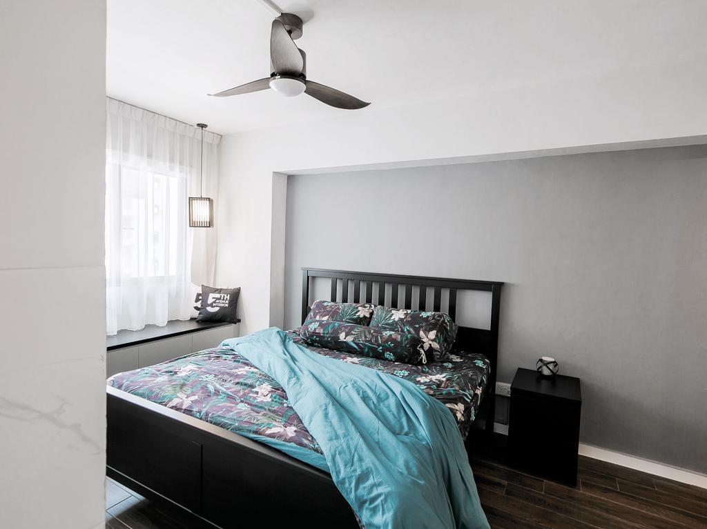 Contemporary, HDB, Bedroom, Jurong West, Interior Designer, Fifth Avenue Interior