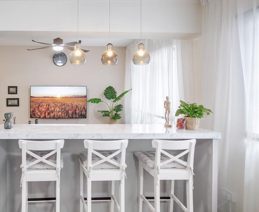 Contemporary, HDB, Living Room, Jurong West, Interior Designer, Fifth Avenue Interior