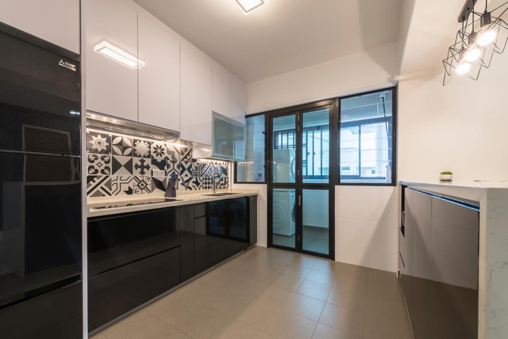 Modern, HDB, Kitchen, Yishun Ring Road, Interior Designer, Ace's Design