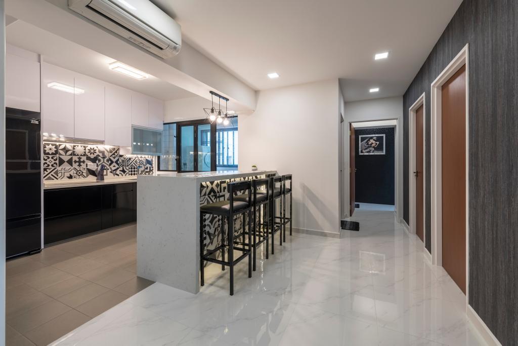 Modern, HDB, Dining Room, Yishun Ring Road, Interior Designer, Ace's Design