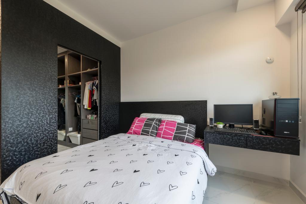 Modern, HDB, Bedroom, Yishun Ring Road, Interior Designer, Ace's Design