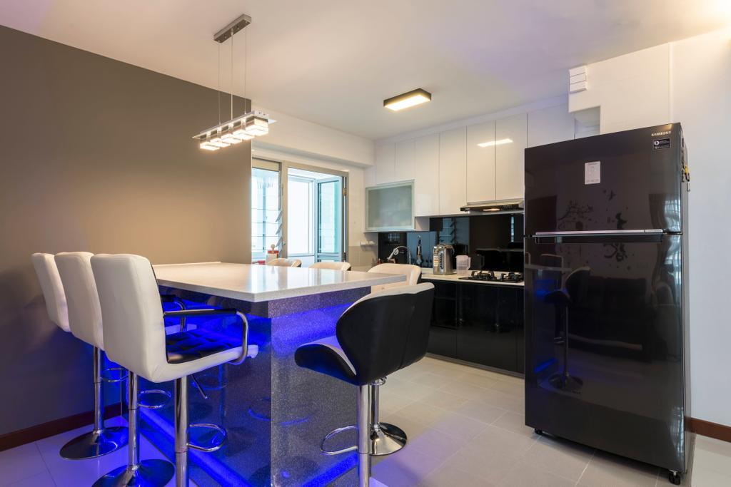 Modern, HDB, Kitchen, Ang Mo Kio Street 51, Interior Designer, Ace's Design