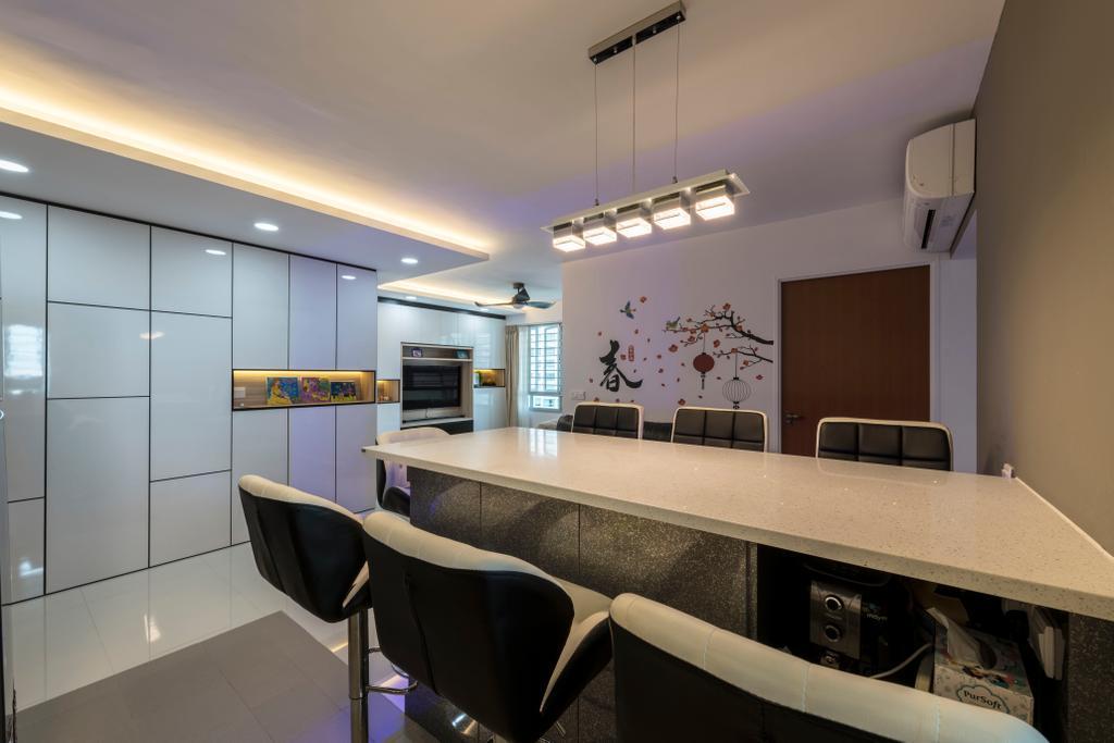 Modern, HDB, Dining Room, Ang Mo Kio Street 51, Interior Designer, Ace's Design