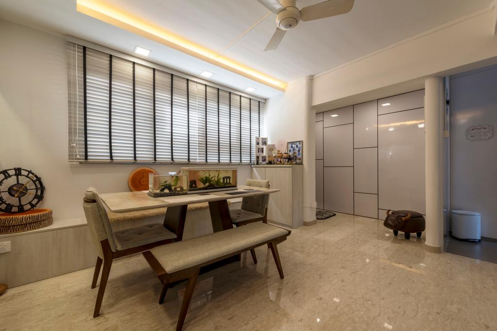 Modern, HDB, Dining Room, Tampines Street 41, Interior Designer, Ace's Design