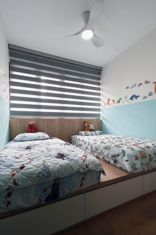 Contemporary, Condo, Bedroom, Hundred Palms Residence, Interior Designer, Charlotte's Carpentry