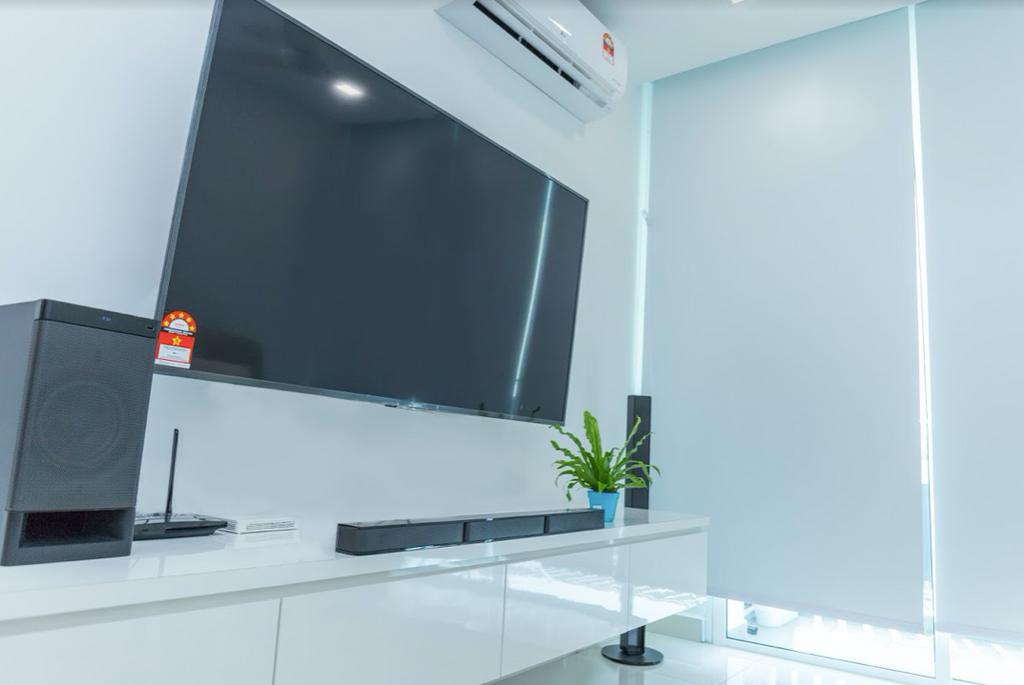 Minimalistic, Condo, Living Room, KSL Residence, Johor, Interior Designer, Inniva Design & Construction Sdn Bhd