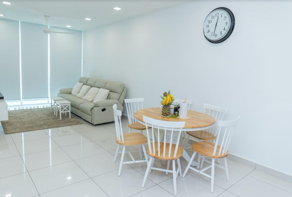 Minimalistic, Condo, Dining Room, KSL Residence, Johor, Interior Designer, Inniva Design & Construction Sdn Bhd