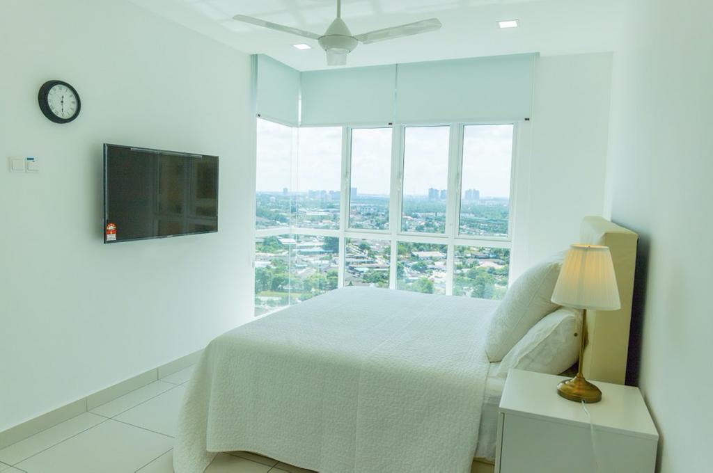 Minimalistic, Condo, Bedroom, KSL Residence, Johor, Interior Designer, Inniva Design & Construction Sdn Bhd