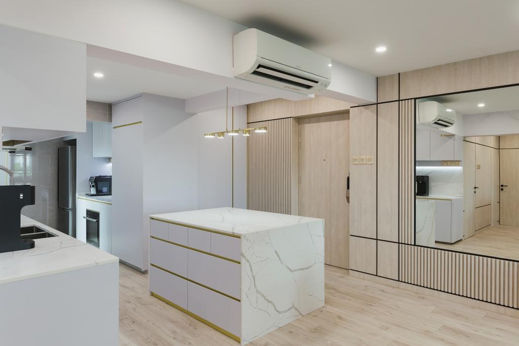 Modern, HDB, Kitchen, Clementi Avenue 2, Interior Designer, J Design & Build, Contemporary