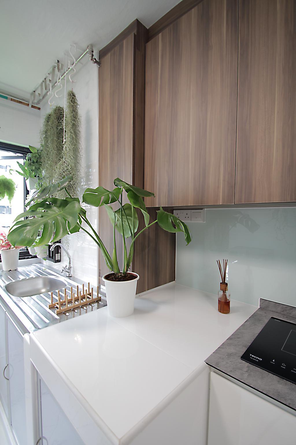 Modern, HDB, Kitchen, Bedok Reservoir Road, Interior Designer, Mesh Room Design