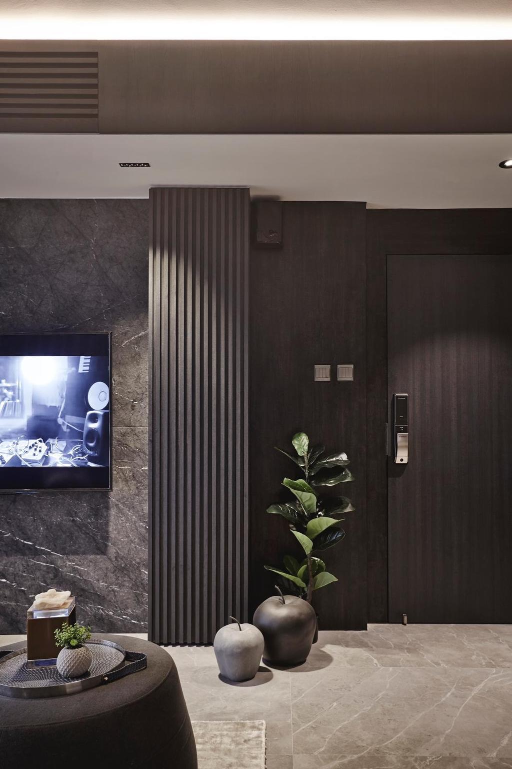 Contemporary, Condo, Living Room, Parkview Apartments, Interior Designer, Honeycomb Design Studio