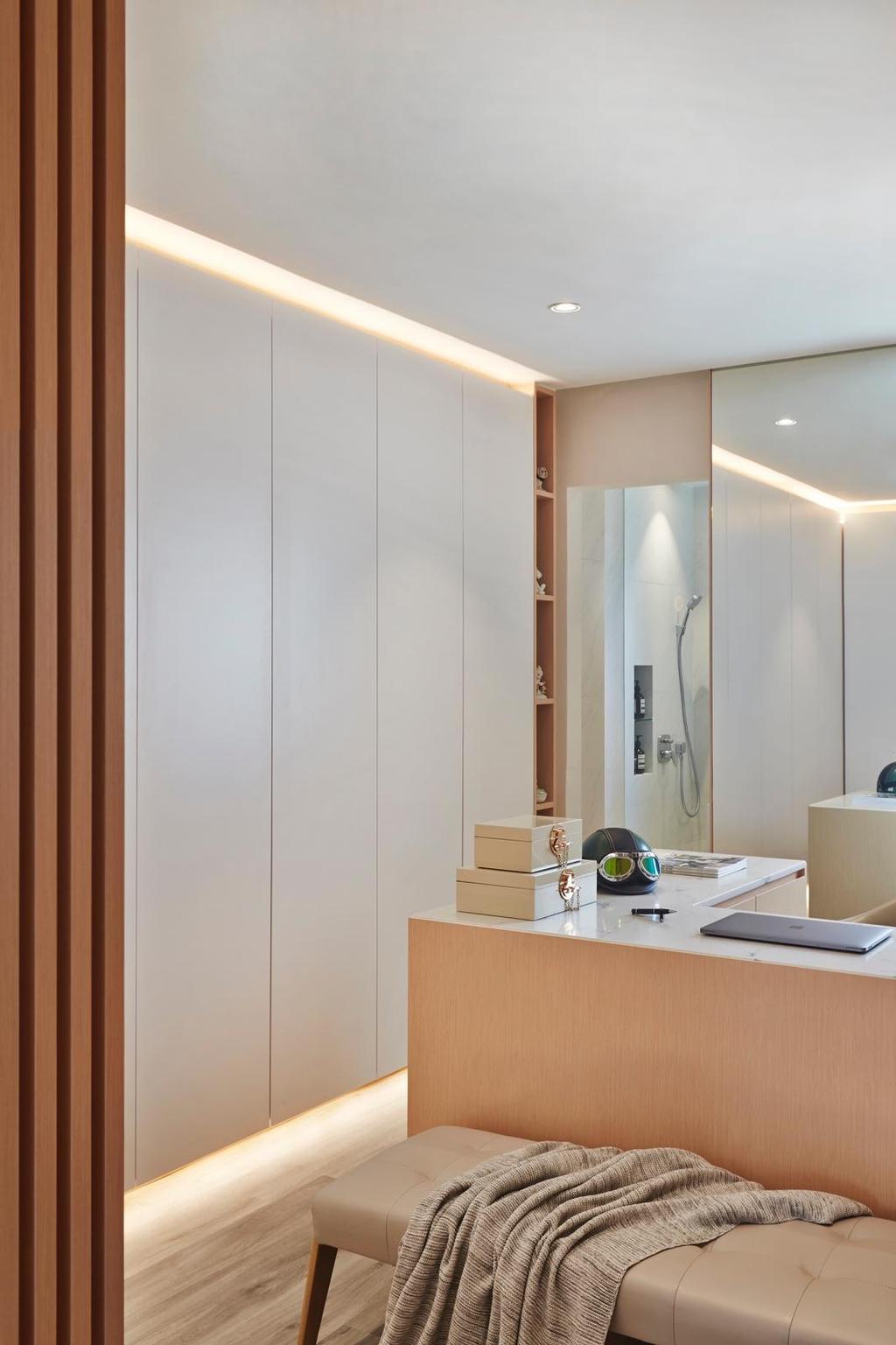 Minimalistic, HDB, Bathroom, Yishun Ring Road, Interior Designer, Honeycomb Design Studio