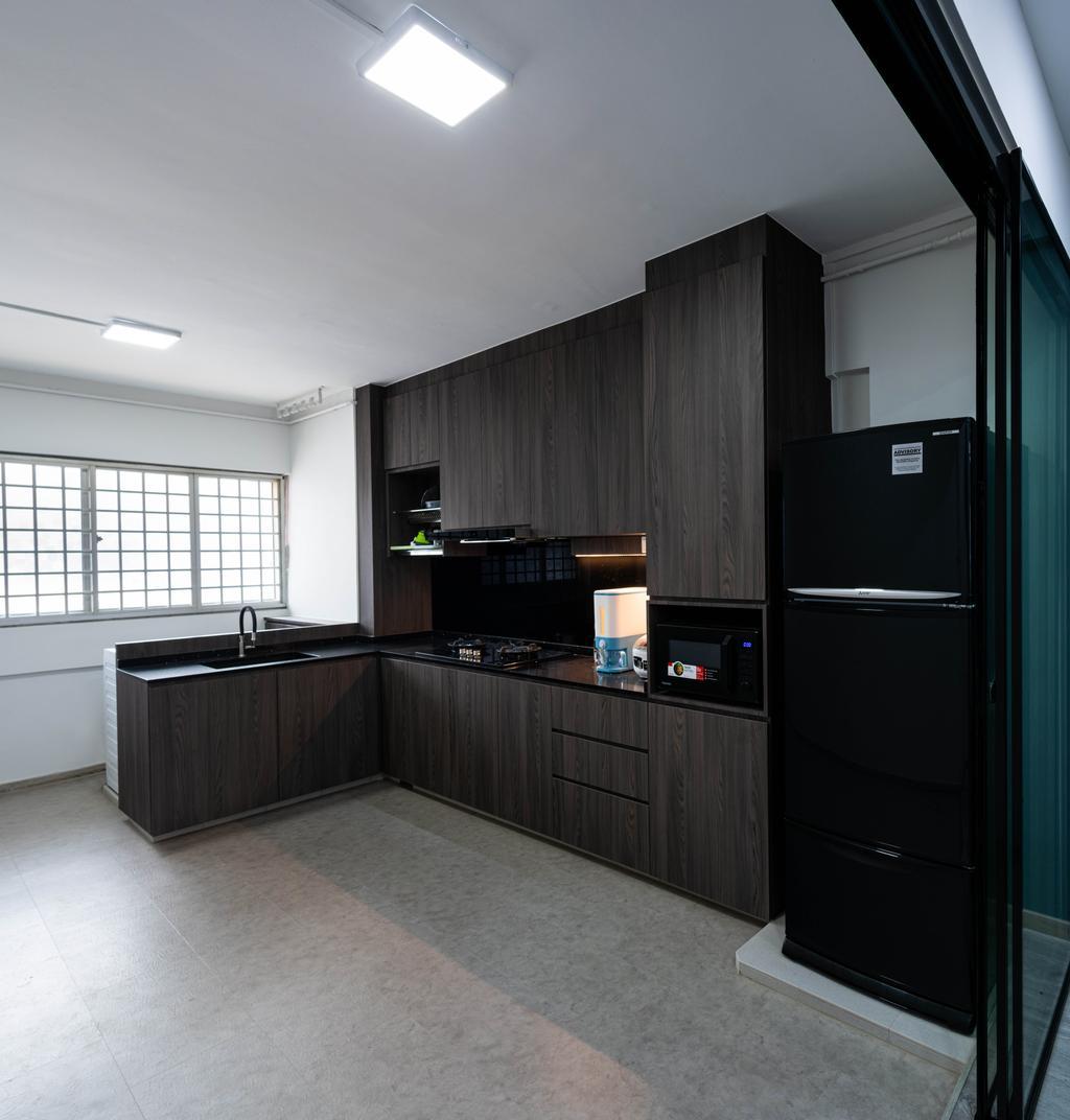 Contemporary, HDB, Kitchen, Bukit Batok East Avenue 9, Interior Designer, Livinci Interior