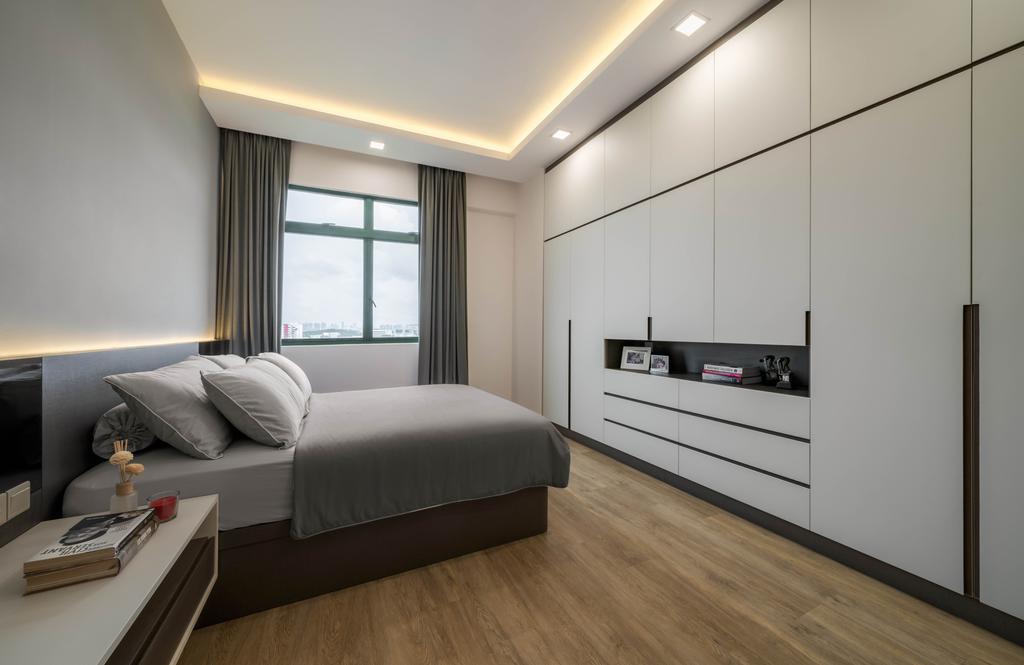 Modern, Condo, Bedroom, Signature Park, Interior Designer, Zenith Arc