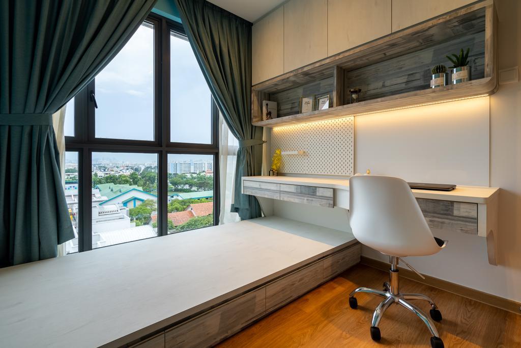 Modern, Condo, Bedroom, Hundred Palms Residences, Interior Designer, The Makers Design Studio, Contemporary