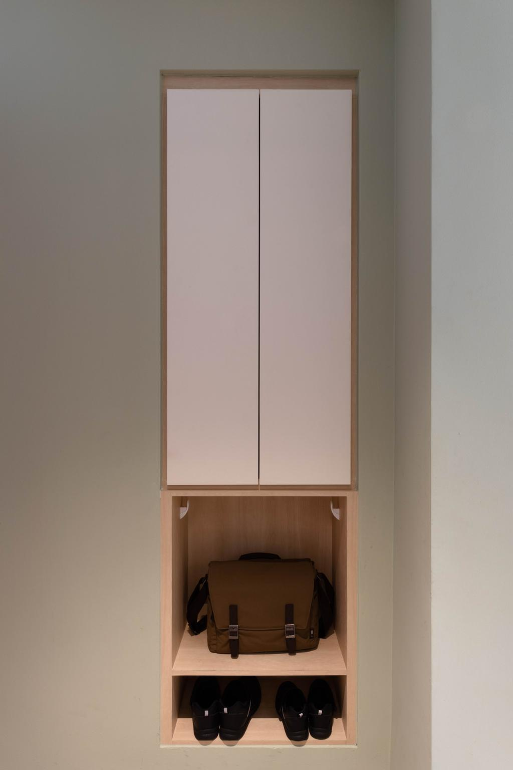Minimalistic, HDB, Bedroom, Punggol Drive, Interior Designer, ARK-hitecture, Contemporary