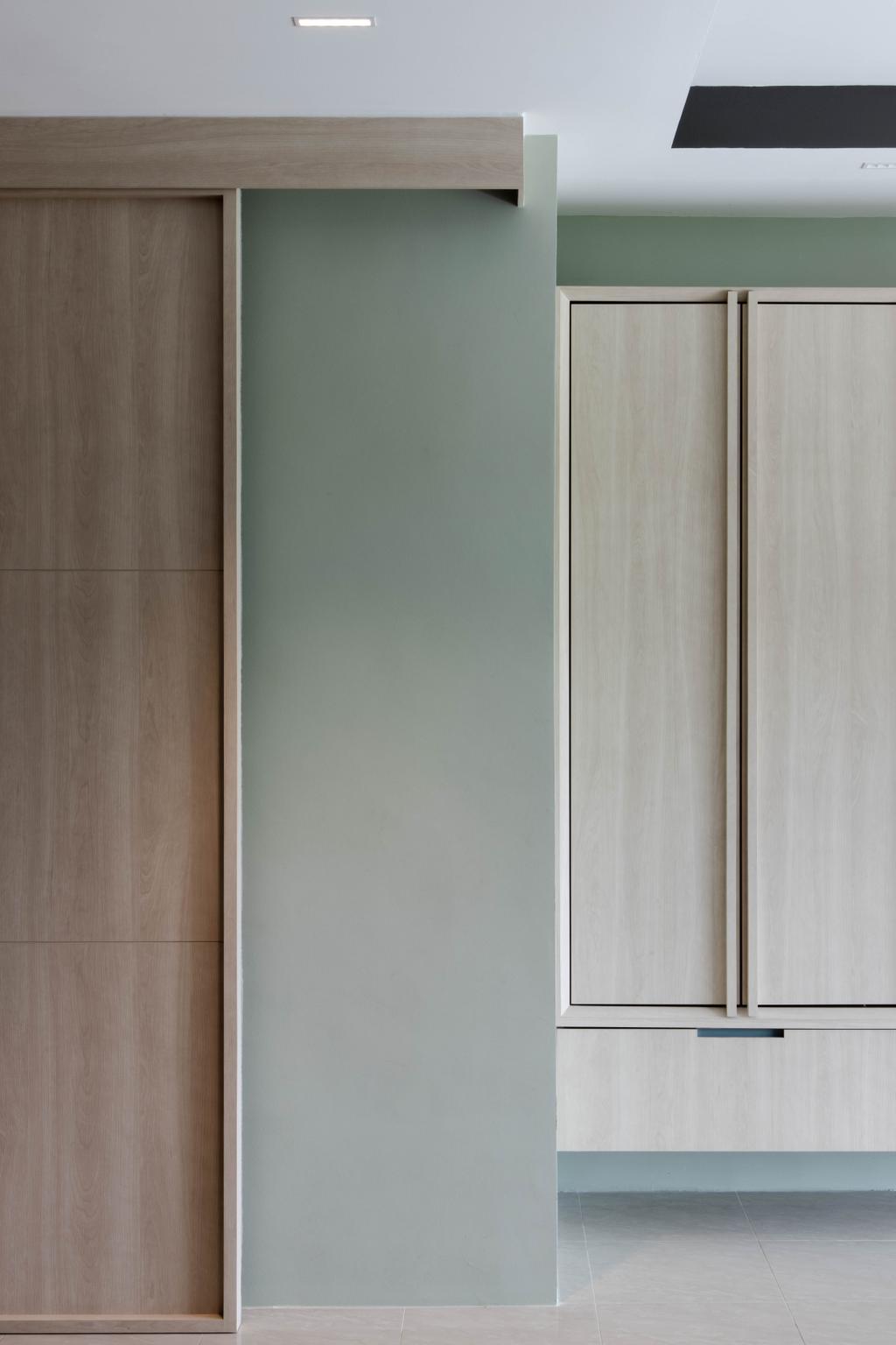 Minimalistic, HDB, Living Room, Punggol Drive, Interior Designer, ARK-hitecture, Contemporary