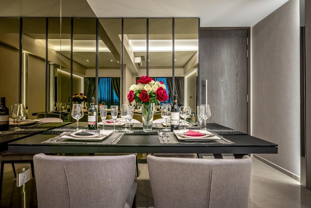 Modern, Condo, Dining Room, Parc Riviera, Interior Designer, One Design Werkz