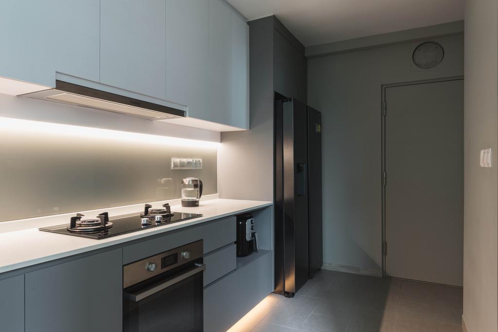 Contemporary, HDB, Kitchen, Edgedale Plains, Interior Designer, The Design Practice