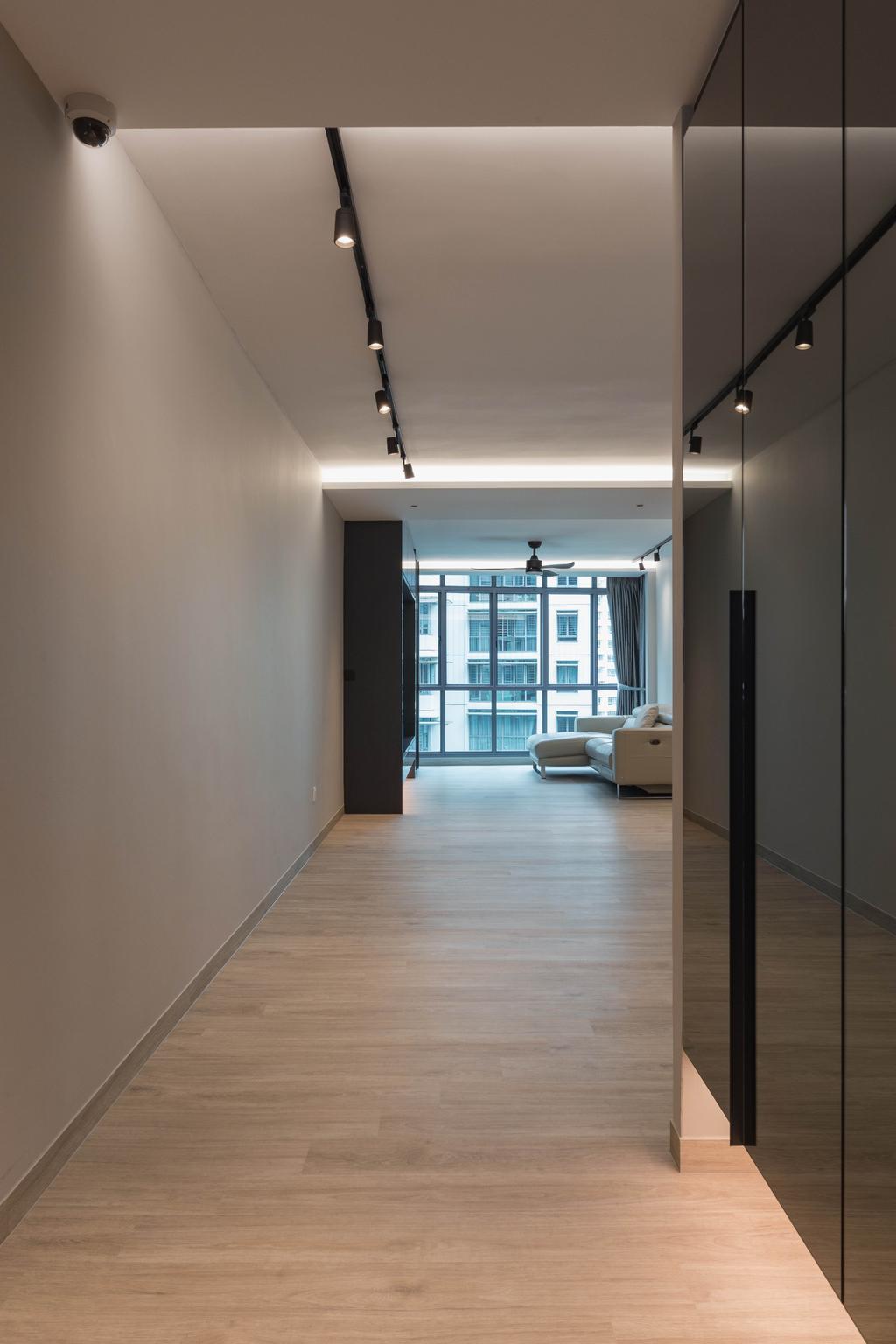 Contemporary, HDB, Living Room, Edgedale Plains, Interior Designer, The Design Practice