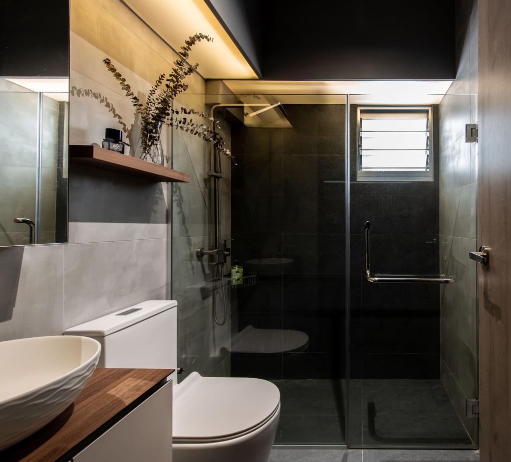 Contemporary, HDB, Bathroom, Punggol Drive (Block 209C), Interior Designer, Dyel Design