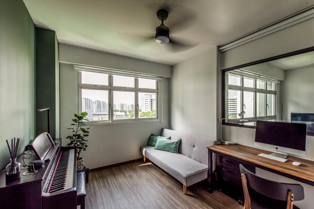 Contemporary, HDB, Study, Punggol Drive (Block 209C), Interior Designer, Dyel Design