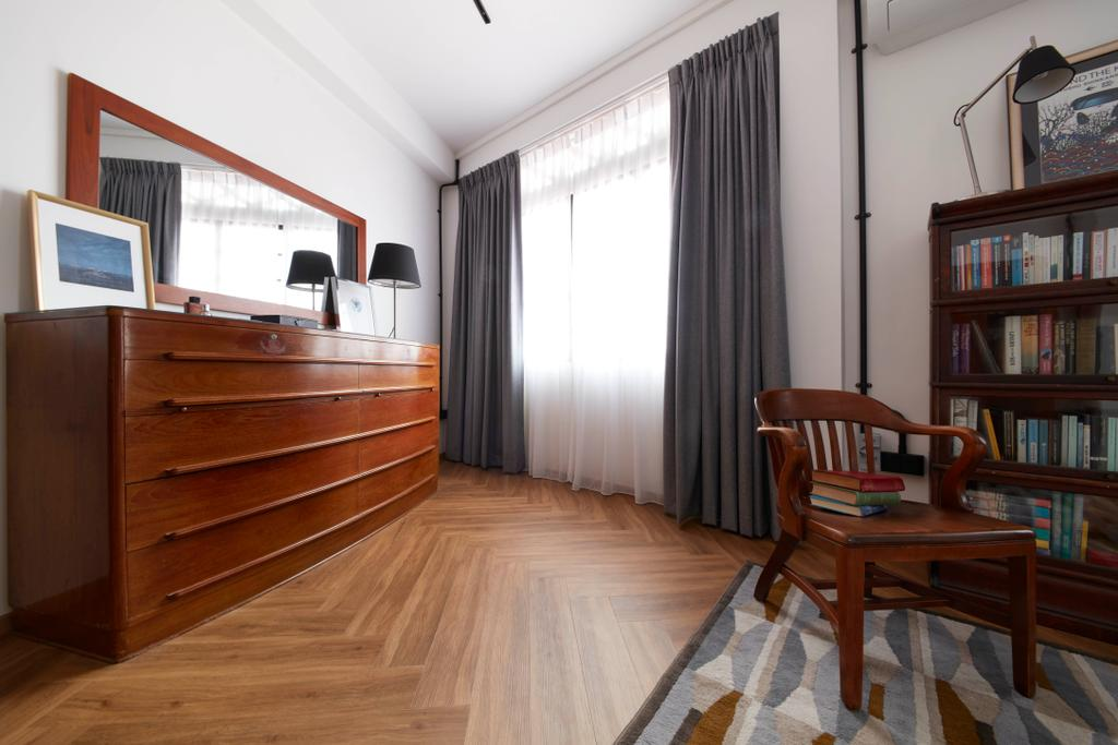 Eclectic, HDB, Bedroom, Joo Chiat, Interior Designer, Free Space Intent, Vintage