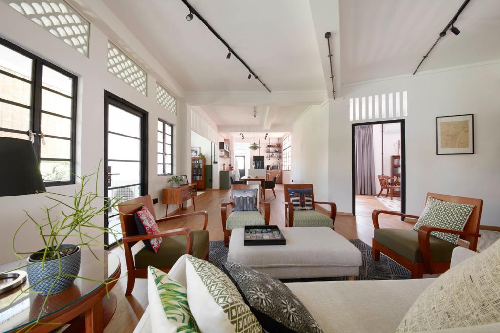 Eclectic, HDB, Living Room, Joo Chiat, Interior Designer, Free Space Intent, Vintage